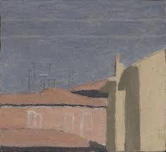 Giorgio Morandi, <Courtyard in Via Fondazza>, 1958