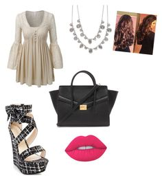 """Untitled #604"" by bri-dawsonaretogetherallthetime on Polyvore featuring Forever 21, LE3NO, Givenchy and Lime Crime"