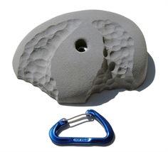Atomik double hander limestone climbing hold