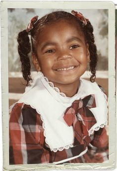 Ashanti as a kid