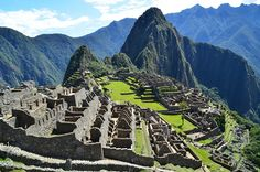 For those travelling to Peru, you should not miss out on a trip to the Machu Picchu ruins, which came third in the list