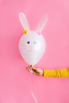 DIY Bunny Balloons AO Bespoke Bride Easter-1