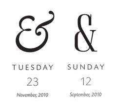 300 & 65 ampersands. Featuring a new ampersand every day.