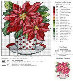 Gallery.ru / Фото #9 - December Poinsettia in Teacup