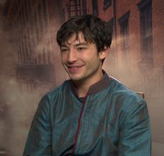Ezra Miller 'Fantastic Beasts' Interview