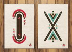 Target Chalet : Winter X Games by Aaron Melander, via Behance
