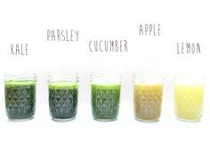 Healthy Juice Recipes: Kale & Parsley Juice - Free People Blog