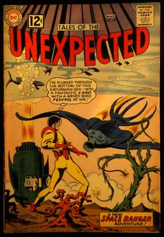 Tales Of the Unexpected #69 March 1962