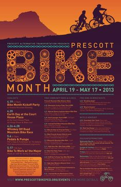 Nice poster, Prescott Alternative Transportation!