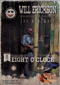 Will Erickson promo poster