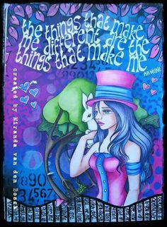 "Miranda van den Bosch - ""Enchanted Wind"" on THE DYAN REAVELEY ART JOURNALING Gateway FB Group."