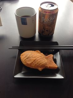 Tiayaki and Pokka Coffee at home