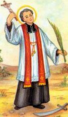 Saint Eulogius of Cordoba.  Feast day March 11.    Saint Eulogius, pray for us, that we may be ever mindful that all our gifts come from God, that we not be prideful, but willing always to follow His lead. Amen.