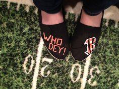 Cincinnati Bengals TOMS I need these