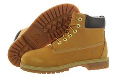 """Timberland 6"""" Premium Boot 12709 Youth - http://www.gogokicks.com/"""