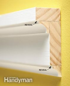 How to Install Wood Molding - Article: The Family Handyman