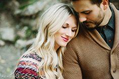 Sean & Lisa's Fall Photoshoot in the Utah Mountains | Lori Romney Photography