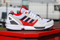 adidas ZX 8000 Black/White/Light Scarlet ... Nobody's taking the adidas ZX 8000's crown and it's a ...