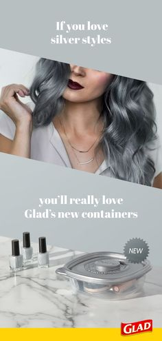 """NEW Glad metallic-colored containers will be the """"highlights"""" of your fridge. Hair Color Purple, Cool Hair Color, Hair Colors, Black Girls Hairstyles, Cool Hairstyles, Natural Hair Styles, Short Hair Styles, Hair Creations, Hair Affair"""