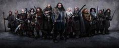 Fili, Kili, Oin, Gloin, Thorin, Dwalin, Balin, Bifur, Bofur, Bombur, Dori, Nori, and Ori. Try saying at three times fast. :)