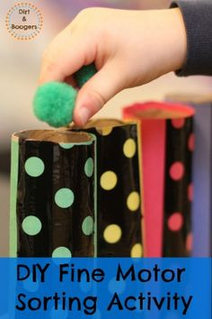 A really simple, yet fun Fine Motor Skills Activity for Kids -