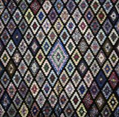 Hexagon Lozenges Coverlet