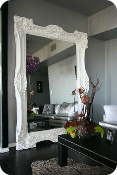 This mirror is fabulous - it would be perfect for a dining room or small living room