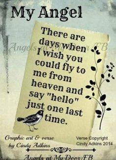 True. Missing my son so very much.