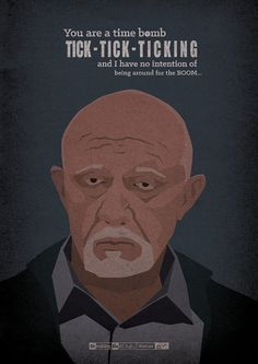 <b>A Hungarian artist created 62 illustrated posters for every episode of <i>Breaking Bad</i>.</b> Spoiler alert! Breaking Bad Poster, Breaking Bad Arte, Affiche Breaking Bad, Serie Breaking Bad, Breaking Bad Episodes, Spoiler Alert, Illustrator, Bad Quotes, Fanart