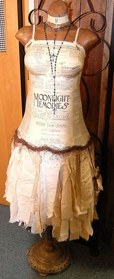 Custom French Chic Dress Form by Daniscustomdesigns on Etsy, $199.00