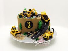 Construction site cake - CakesDecor