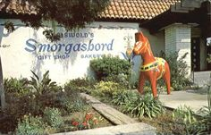 Griswold's Smorgasbord, Route 66, Claremont, California