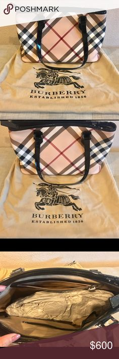 Burberry Nova Check Tote This is brand new with tags and it is 100% authentic! Burberry Bags Totes