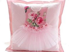 sweet pillow for a girlThe Princess Cushion - custom made by MyShabbyCottageOh my gosh! Love my boys, but maybe Billy is right. I need a granddaughter too! Sewing Pillows, Diy Pillows, Decorative Pillows, Throw Pillows, Cute Cushions, Scatter Cushions, Sewing Hacks, Sewing Crafts, Sewing Projects