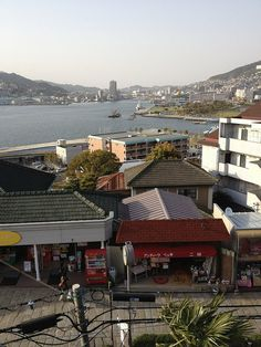 A view from Glover garden, Nagasaki