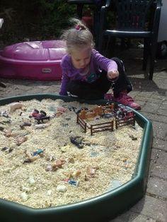 Farm play in the Tuff Spot