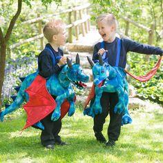Ride on Dragon - Fancy dress costume by Travis Designs