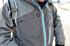 A heated coat -- Columbia Omni-Heat Circuit Breaker Softshell electric