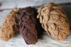 pinecones free pattern
