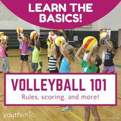 Tips and advice for parents and players new to playing volleyball: https://www.youthletic.com/articles/volleyball-101-basic-rules-of-the-game-for-new-parents-and-players/?utm_source=pinterest&utm_medium=referral&utm_campaign=organic
