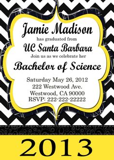 Free graduation party invitation templates invitation sample graduation invitation diy printable party by filmwisefo