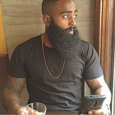 "Determine more information on ""black men hair"". Look into our internet site. I Love Beards, Black Men Beards, Great Beards, Long Beards, Awesome Beards, Beard Game, Epic Beard, Full Beard, Beard Styles For Men"