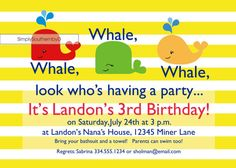 Whale Whale Whale look who's having a by SimplySouthernbyD on Etsy, $8.90
