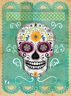Día de Muertos México by Mozak , via Behance