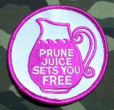 Hey, I found this really awesome Etsy listing at https://www.etsy.com/listing/203338328/vintage-1970s-prune-juice-sets-you-free