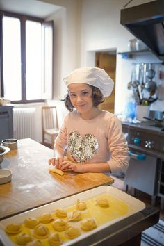 We welcome the youngest! They happen to be the best chefs!