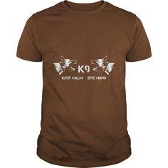 k9 keep calm german shepherd dog shirt