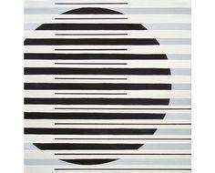 Gudrun Asling #minimal #geometric #mondrian #lines #monochromatic