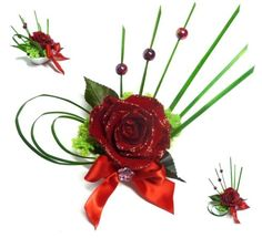 rose-eternelle-preservee-stabilisee-sublimee-paillette-coupelle-perle-feuillage Deco Rose, Ikebana, Flower Decorations, Floral Arrangements, Art Floral, Bouquets, Flowers, Plants, Christmas