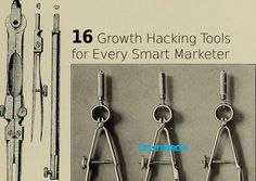 16 Awesome Growth Hacking Tools for a Smart Marketer - Scooblr Plato Business, Tech, S. Viral Marketing, Event Marketing, Influencer Marketing, Marketing Tools, Content Marketing, Social Media Marketing, Digital Marketing, Bait And Switch, Marketing Opportunities